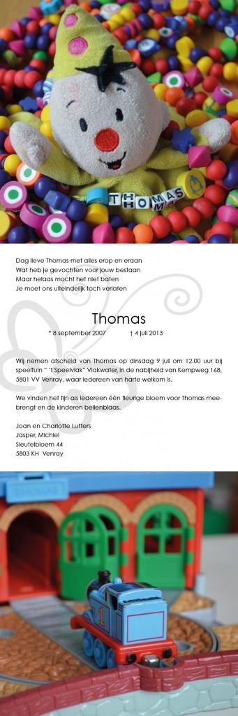 Thomas website